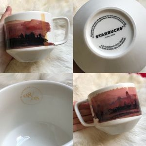 Starbucks Coffee Mug 08/08 Dessert 2015